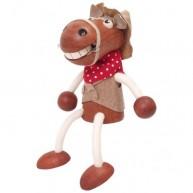 IMP-EX Rugós lovacska fiú figura kendővel a nyakában 3843-35