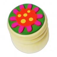 Tejfogtartó doboz virágos 2298A