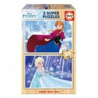 Educa Disney Jégvarázs fa puzzle, 2x25 darabos II. 16801