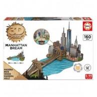 Educa Manhattan 3D puzzle, 160 darabos 17000