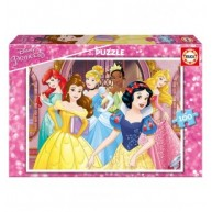 Educa Disney hercegnők puzzle, 100 darabos 17167