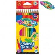 Colorino Kids hatszögletű 12db-os színes ceruzakészlet 14687PTR