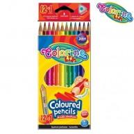 Colorino háromszögű 12 db-os,13 színű ceruzakészlet  54706PTR