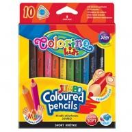 Colorino Kids Mini Jumbo háromszögű vastag 10db-os színes ceruzakészlet   32964PTR