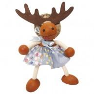 IMP-EX Rugós szarvas lány figura 3843-62