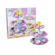 Muffintorony gyurmakészlet KIDS Toys 11744