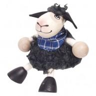 IMP-EX Rugós fekete bárány figura fiú 3843-20