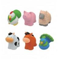 Popbo Blocs farm szétszedhető állatfigurák logikai babajáték