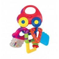 Ks Kids zenélő autó, kulcsos csörgő KIT23007