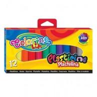 Colorino Kids színes alap gyurmák 12db 13291