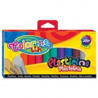 Colorino Kids gyurma 12 db arany és ezüst gyurmával 42673
