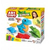 Art Craft dínós gyurmakészlet 3549