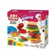 Art Craft hamburger készítő gyurmakészlet 03554
