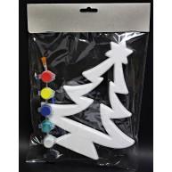 Hungarocell festhető karácsonyfa dekoráció festékkel 437597