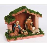 Fa Betlehem kis Jézussal, Szűz Máriával és Józseffel 453194