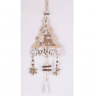 Karácsonyi ajtó és ablakdísz lógó dekoráció rénszarvasos 456653-2