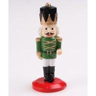 Kerámia diótörő király zöld ruhában 468140
