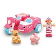 WOW Toys Amy motoros oldalkocsival és kedvenc mackójával 10304