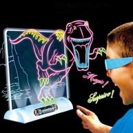 Mágikus 3D Rajztábla 3D szemüveggel és 4db speciális filctollal 9141