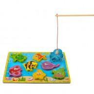 Mágneses horgász játék vagy magasított óceános puzzle 7796