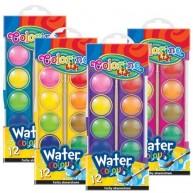 Colorino Kids 12 színű vízfesték, korong átmérő: 23 mm 41508