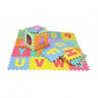 Szivacs puzzle 36db-os padlóburkoló játszószőnyeg gyerekeknek 4693