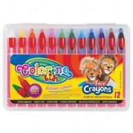 Colorino Kids arcfestő ceruzák 12db-os szett 32650