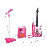 Lányos gitár, erősítő és mikrofon játék 4709