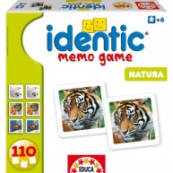 Educa Identic memóriajáték - A világ állatai 14783