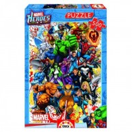 Educa Marvel hősök puzzle, 500 darabos