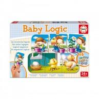 Educa Baby Logic, bébi logikai puzzle - rakd sorba 15860