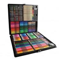 Mega rajzkészlet 258db-os festőkészlet praktikus kofferben 8643