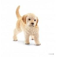Schleich 16396 Golden retriver kölyök kutya figura
