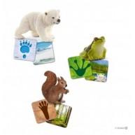 Schleich 42474 Wild life tanulókártyák