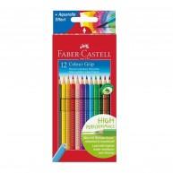Faber Castell Grip 2001  -  12 darabos színes ceruza készlet