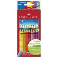 Faber Castell Grip 2001  -  24 darabos színes ceruza készlet