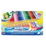 Jolly supersticks aquarell 36 darabos színes ceruza készlet fém dobozban