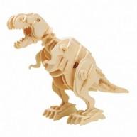 ROKR 3D modell - Sétáló T-Rex lézervágott modell