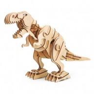 ROKR 3D puzzle - T-Rex beépített led világítással, hangvezérléssel
