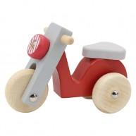 Gurulós robogó, piros színű 6201-A