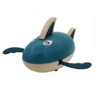 Felhúzható kék cápa fürdőjáték 6196-A