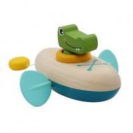 Lendkerekes mini kenu, krokodilos fürdőjáték 6195-A