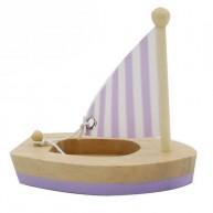 Mini vitorlás fürdőjáték ( lila-natúr ) 6194-D