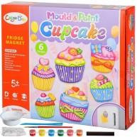 Hűtőmágnes készítő muffinos gipszkiöntő szett gyerekeknek Color Day 11526