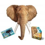 Wow Puzzle 700 db - Elefánt