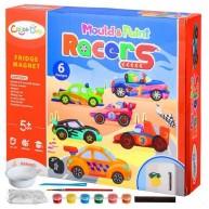 Hűtőmágnes készítő autós gipszkiöntő készlet gyerekeknek Color Day 11531