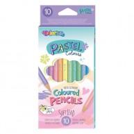 Colorino Pasztell 10db-os ceruzakészlet