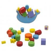 Egyensúlyozó készségfejlesztő játék delfin 5115-B