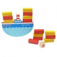 Egyensúlyozó hajó készségfejlesztő társasjáték 5214