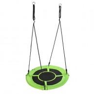 Fészekhinta 100cm-es zöld állítható magassággal